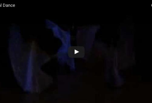 Ανατολίτικος χορός με πέπλα