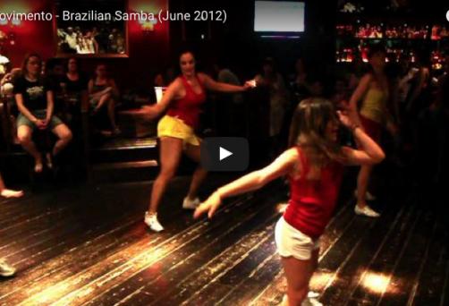 Arte Movimento – Brazilian Samba (Ιούνιος 2012)